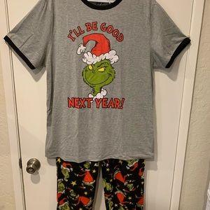 Grinch Pajamas 2 Piece Set NWT